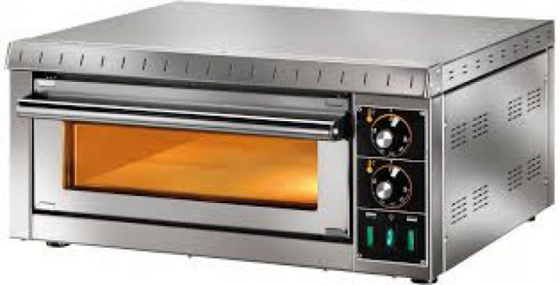 SINGLE LAYER TWO PLATE ELECTRIC PIZZA OVEN