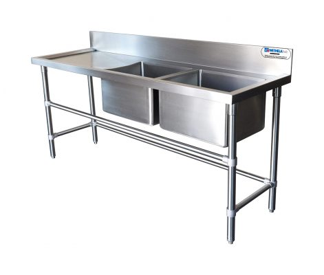 DOUBLE CHAMBER SINK